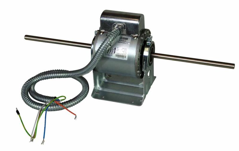 Double Shaft Fan Motor